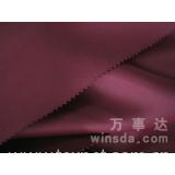 Flame retardant blackout curtain fabric