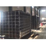 Foundry sand box welding