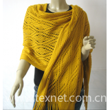 Warp-knitted Scarves