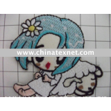 2010 fashion figure embroidery  patches