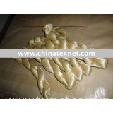 Tussah Native Bleached Silk Fiber