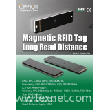 A rugged Magnetic UHF tag OPP9020M