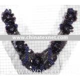 exquisite handmade sequins women collar