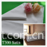 T300 white satin 100% cotton hotel bed linen fabric