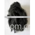 Recycled 100% Polyester staple fiber (black)   PSF