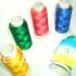 sinlge-fold luster rayon thread
