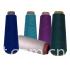 Viscose and bamboo fibre blended yarn