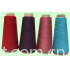 Cotton and acrylic blended yarn