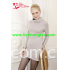 L-038 lady's solid color turtleneck pullover cashmere sweater dress