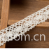 Crocheted 100% Cotton Off White lace Trimming 0.67