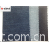 Indigo knitted rib slub twill fabric
