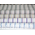 Cotton yarn-dyed striped fabric
