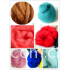 combed very soft wool tops