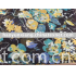 100%polyester printed voile fabric
