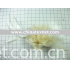 handmade light yellow feather flower