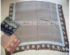 羊毛+莫代尔斜纹围巾 点击查看大图