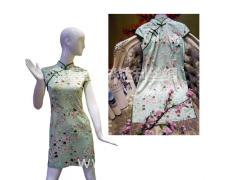 旗袍—樱花 点击查看大图
