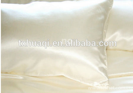 polyester silk pillow