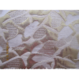 Seersucker crepe jacquard fabric