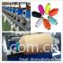 Precision type HDPE yarn rewinding machine for monofilament yarn winding