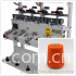 2-4 -6 spindles cone winding machine for cotton yarn rewinding