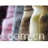 Tip-dyeing high pile fur